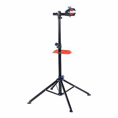 "S AFSTAR Pro Mechanic Bike Repair Stand Adjustable 41"" To 75"" Cycle Rack Bicycle"