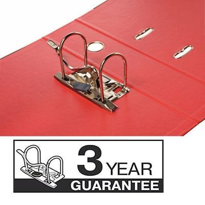 Esselte A4 Polypropylene 50mm Red Lever Arch File (Pack of 10) 48073 [ES80731]