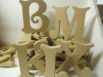 Wooden Letters Premium Quality 200mm High 18mm Thick Victorian Font