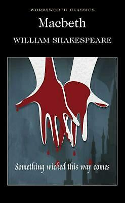 Macbeth by William Shakespeare (English) Paperback Book Free Shipping!