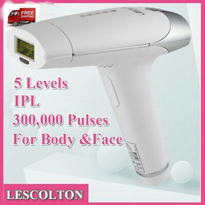 Laser IPL Permanent Hair Removal Machine Face Body Whiten Skin Body & Facial FT