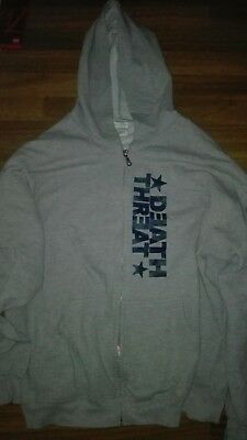 DEATH THREAT Hoodie XL *US Import* Hardcore NYHC Hatebreed Agnostic Front Terror