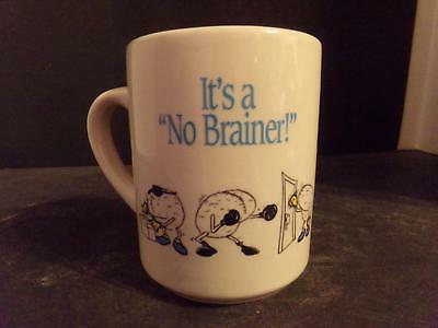"Farmers State Bank Iowa Coffee Cup ""it's A No Brainer!""  (Nq)"