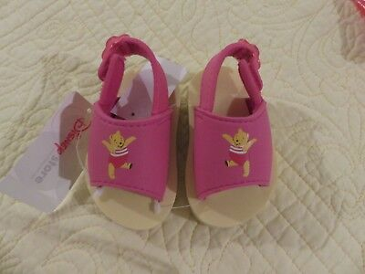 NWT-Disney Winnie the Pooh Sandals for Baby/Toddler 2/3 FITS 6-12 MONTHS-GIRLS