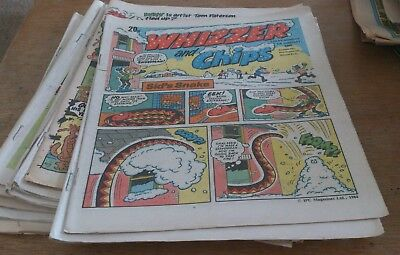 12  Whizzer And Chips Comics 1984/86