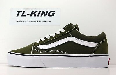 bf5e68a2703d VANS OLD SKOOL Winter Moss True Olive Green White VN0A38G1OW2 Hb ...