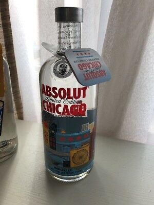 Absolut Vodka Chicago Limited Edition 750ml