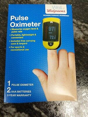 Walgreens Pulse Oximeter OxyWatch C20  pso2 pulsox oxygen level blood meter