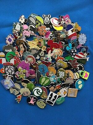 Disney Pins lot of 100- NO DOUBLES- Fast Priority Shipping by US Seller