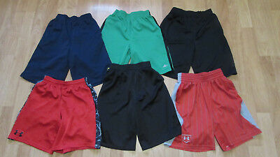 Lot Boys Athletice Shorts Starter Under Armour & More 10/12