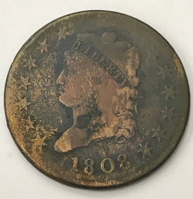 1808 Classic Head United States Large Cent