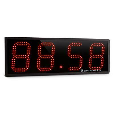 Capital Sports Timeter Sports Timer Stopwatch Cross-Training 4 Digits Beep