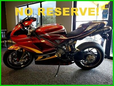 Ducati 1098  2008 Ducati 1098 S ONLY 37 MILES COLLECTOR FLORIDA NO RESERVE!