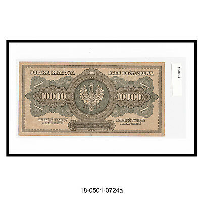 1922 Poland 10,000 Marek Note