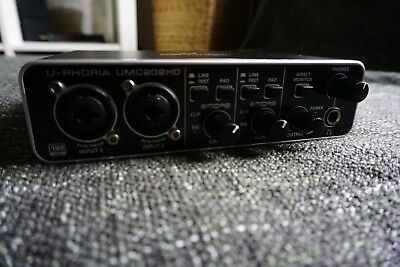 Behringer Behringer - U-PHORIA UMC202HD Audio Interface 192 KHZ - Top Zustand