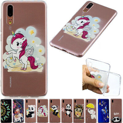 Fashion Rubber Ultra-thin Soft TPU Back Case Silicone Cover For Samsung Huawei
