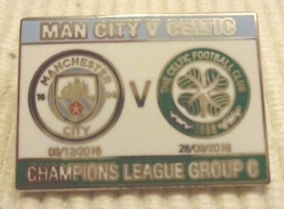 Pin/Nadel CL 16/17 Manchester City - Celtic FC