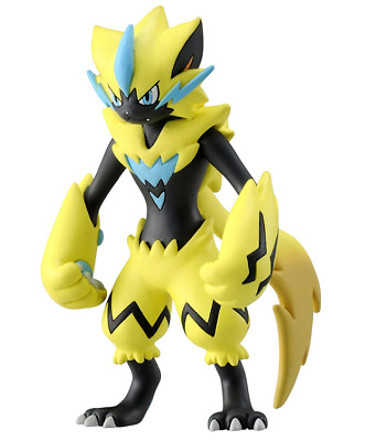TAKARA TOMY Pokemon Moncolle EX Figure EX ESP_03 Zeraora Japan Pocket Monster