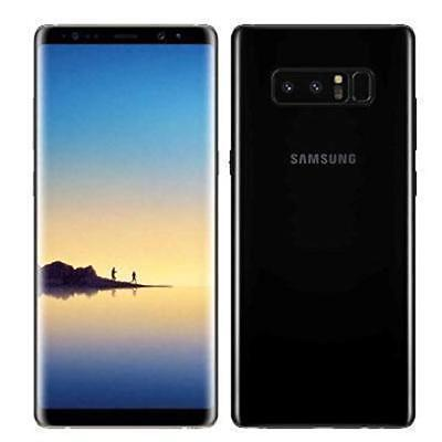 New Open Box GSM Unlocked Samsung Galaxy Note 8 N950U Black T-Mobile AT&T Crickt