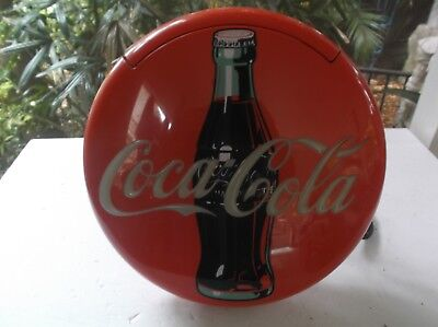 Vtg Coca Cola Brand Disc Telephone Longwood 1995 Table Top Wall Mount Light Up