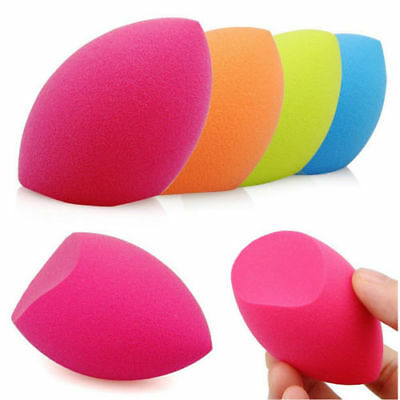 4Pc Makeup Foundation Sponge Blender Blending Puff Flawless Powder Smooth Beauty