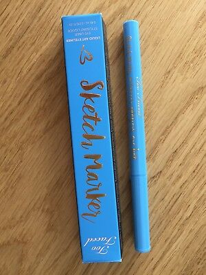 Too Faced - Sketch Marker Liquid Art Eyeliner - Sky Blue - NEU!