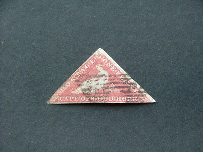 Cape of Good Hope 1863 1d brownish red SG18c GU