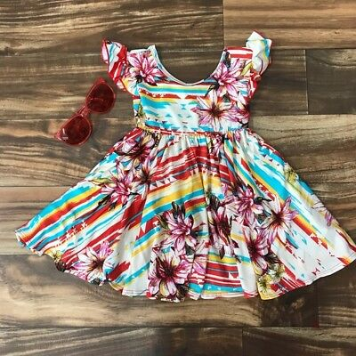 NWT  Dot Dot Smile Red Empire Casual Cute Ballerina Dress Sz 2T