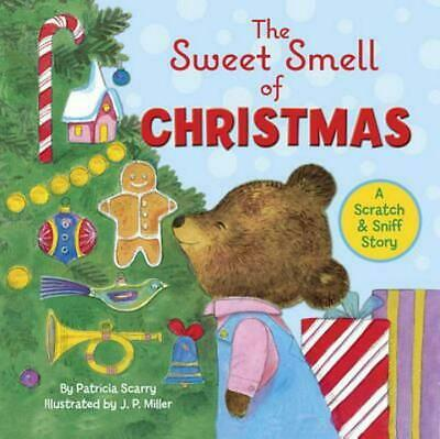 The Sweet Smell of Christmas by Patricia M. Scarry (English) Hardcover Book Free