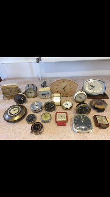 Job lot of clocks