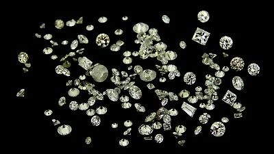 mixed lot of natural diamonds 4.17ct Genuine Loose diamonds NR