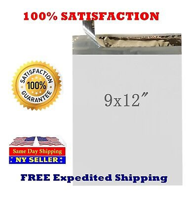 9 x 12 Poly Mailers Envelopes Shipping Plastic Self Sealing Bags -ST ShipMailers