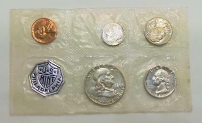 Uncirculated Coin Proof Set 1956 Philadelphia Mint 90% Silver