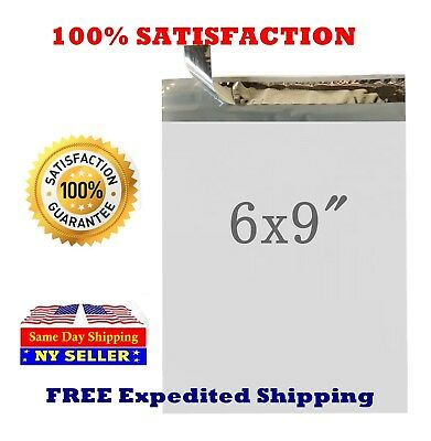 6X9 Light Poly Mailers Shipping Bags Envelopes Packaging Premium Self Seal