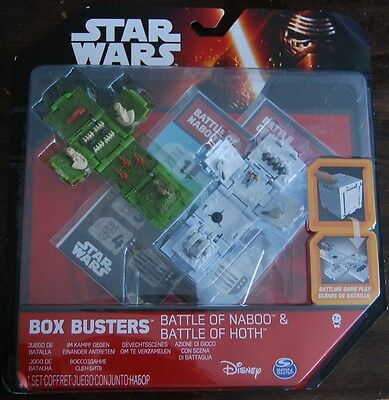 Star Wars Box Busters Battle of Naboo und Battle of Hoth