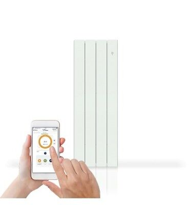Radiateur Bellagio 1000W Smart Ecocontrol Vertical Noirot 00N1693Sefs