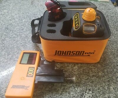 Johnson 40-6502 Laser Level a-x