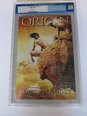 '  02 Origin, With  Wolverine # 6   Graded  Cgc 9.6
