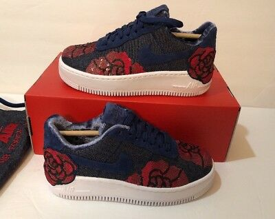 sneakers for cheap 5c61e e2076 Nike Womens W AF1 LX Upstep Air Force 1 Binary Blue Red Floral 898421-401