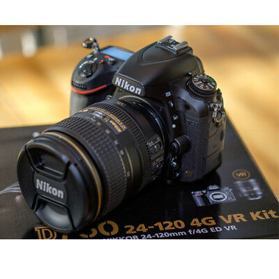 Nikon D750 Digital SLR Camera + 24-120mm f/4 Lens Kit (Multi) Nouveau