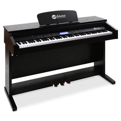Pro Electric Keyboard 88 Key Midi Piano 3 Functions Pedal  Music Stand & Cover