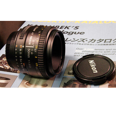 Nikon AF Nikkor 50mm f/1.8D Lens + Ship From EU