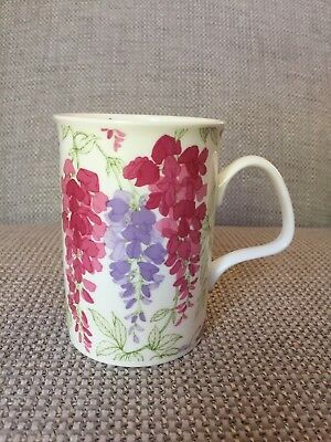 Laura Ashley Wisteria Mug Cup Floral Flower Pretty 2009