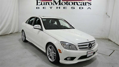 Mercedes-Benz C-Class C350 4dr Sedan 3.5L Sport RWD mercedes benz c300 c 300 c350 350 white black leather 08 09 10 used 3.5l amg