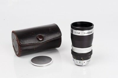 Telephoto Nipolen 1:1.4 f= 38mm cine lens Mount D