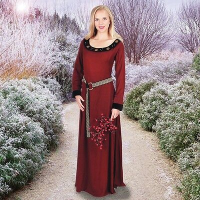 Normandy Burgundy Gown
