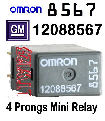 2 NEW OEM GM 12088567 Relay OMRON - $10.99 | PicClick  Pin Relay Wiring on