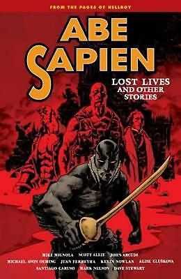 Abe Sapien: Volume 9 by Mike Mignola Paperback Book Free Shipping!