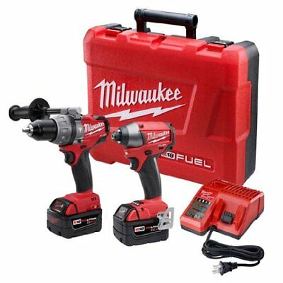New Milwaukee  2797-22  M18 Fuel Lithium-Ion Drill/ Driver & Impact Kit