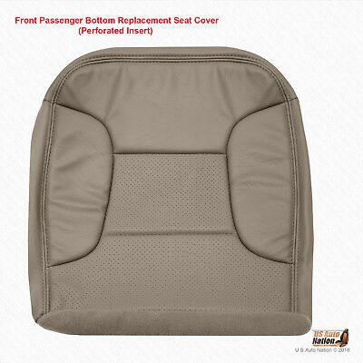 1992 - 1996 Ford Bronco Eddie Bauer PASSENGER Bottom Synth Leather Cover Tan
